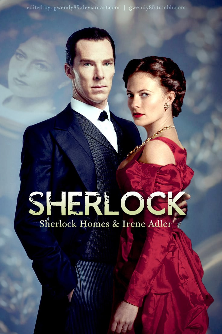Sherlock and Irene poster