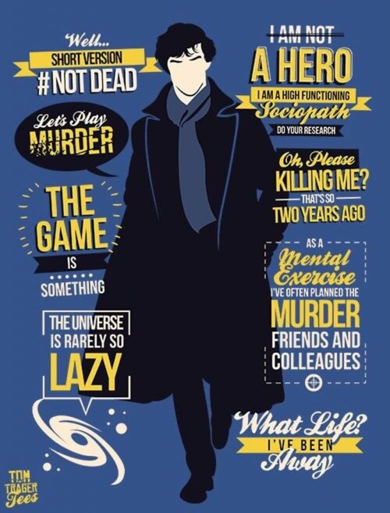 sherlock collection poster