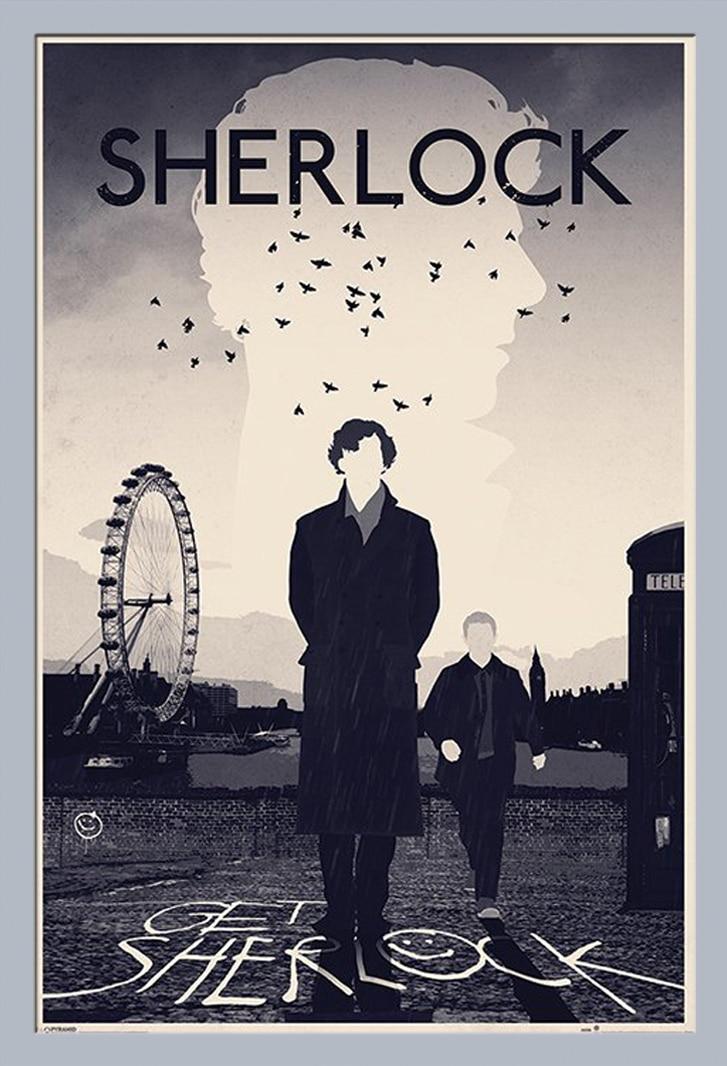 sherlock poster minimalist