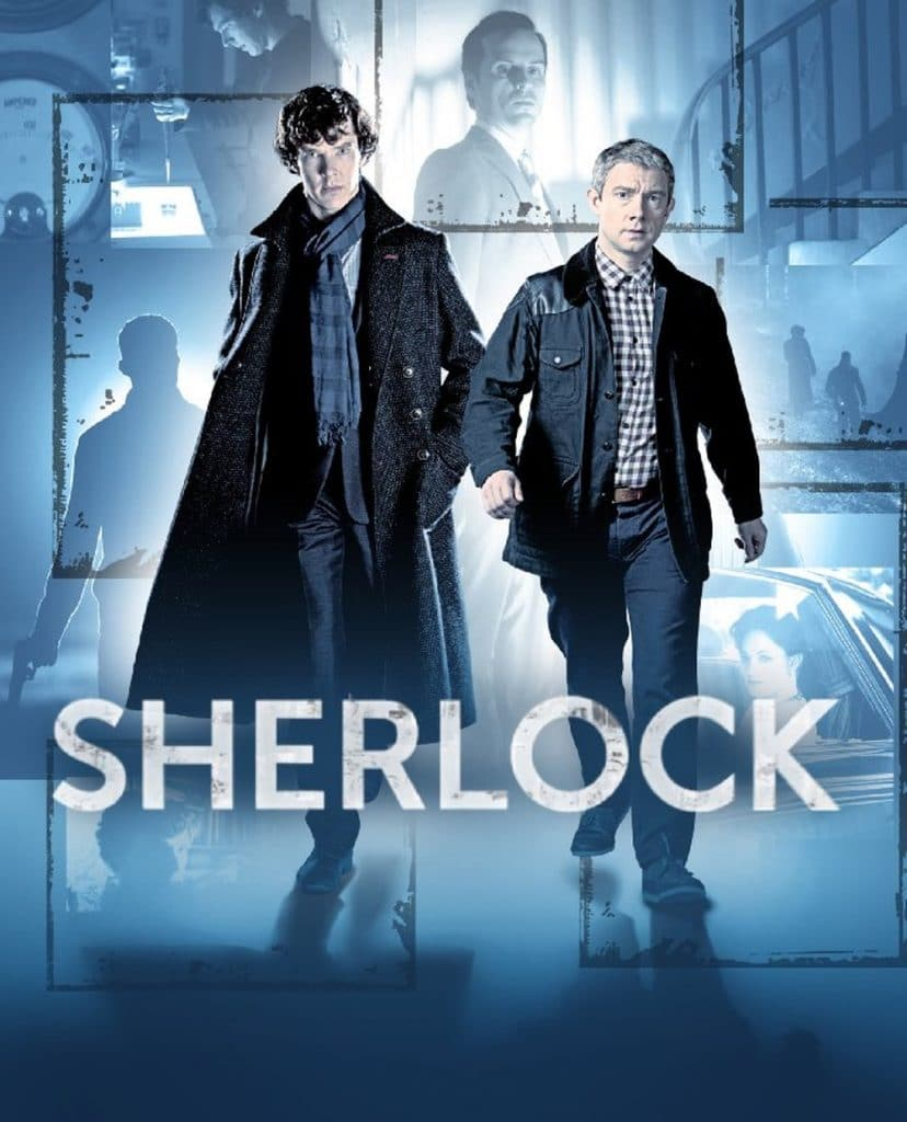 sherlock holmes and Dr.watson poster