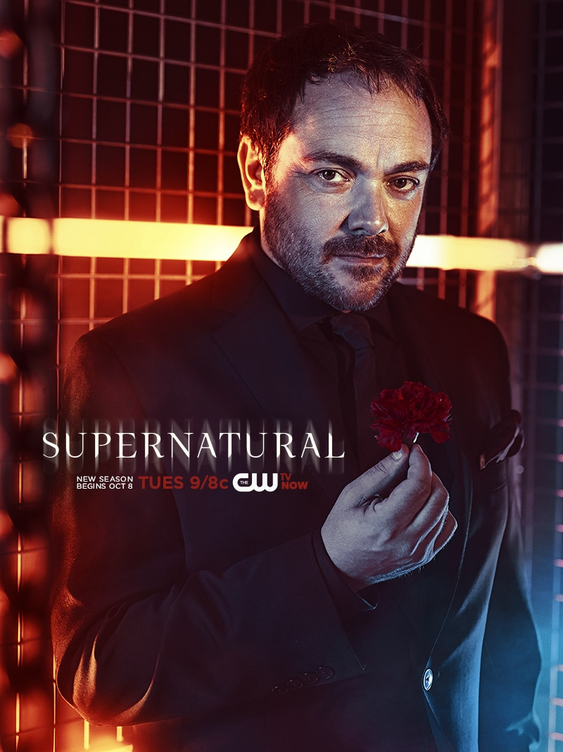 supernatural Crowley poster