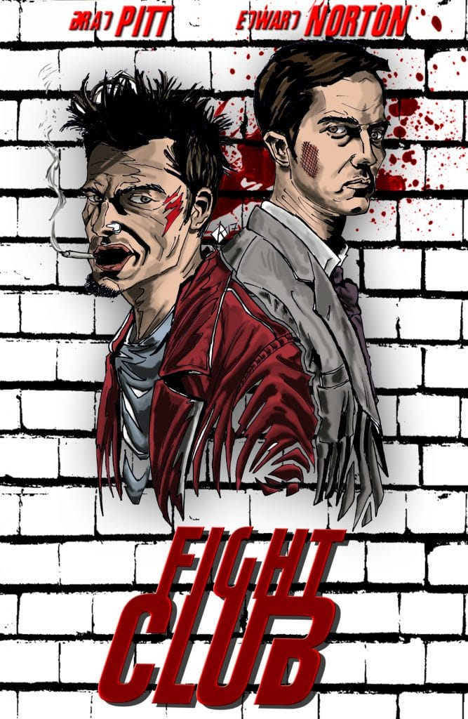 fight club high quality HD printable wallpapers poster art animated cartoon
