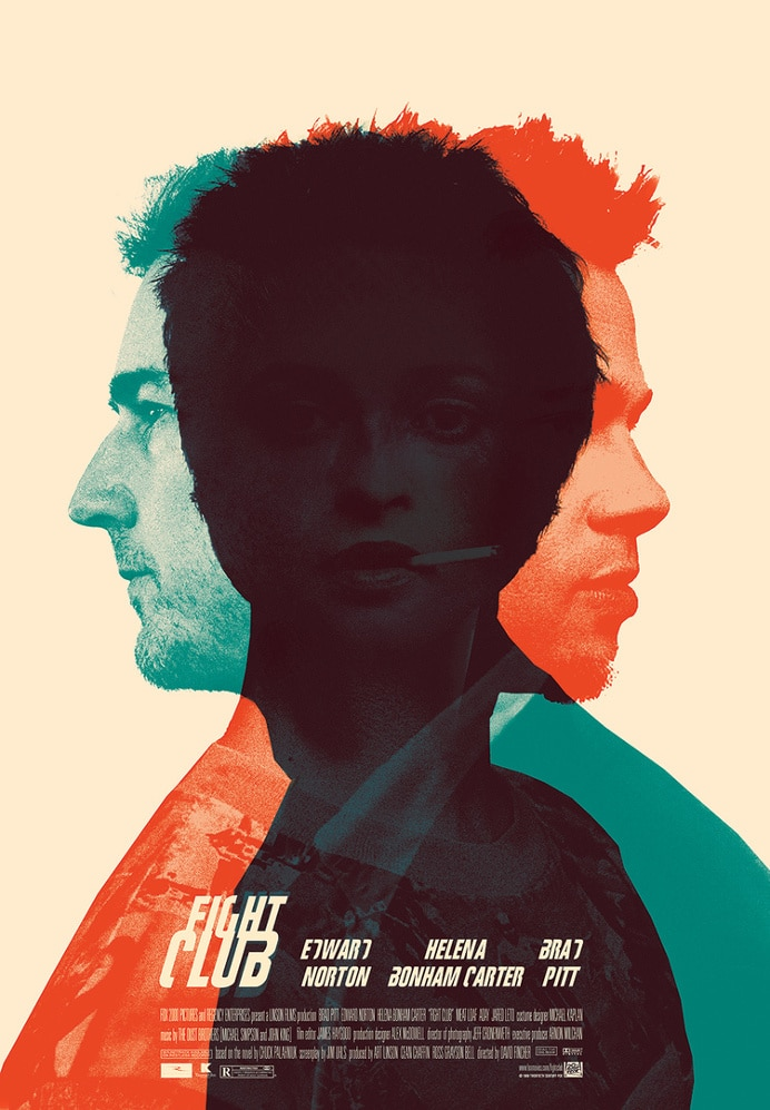fight club high quality HD printable wallpapers poster main characters art animated