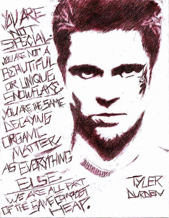 fight club high quality HD printable wallpapers poster quote tyler