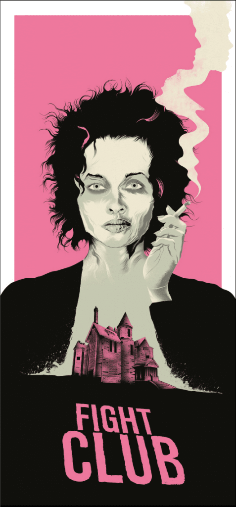 fight club high quality HD printable wallpapers poster art animated cartoon house marla singer