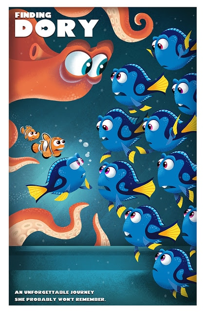 finding dory high quality HD printable wallpapers poster dory finds her parents other blue tang fishes scene nemo marlin hank