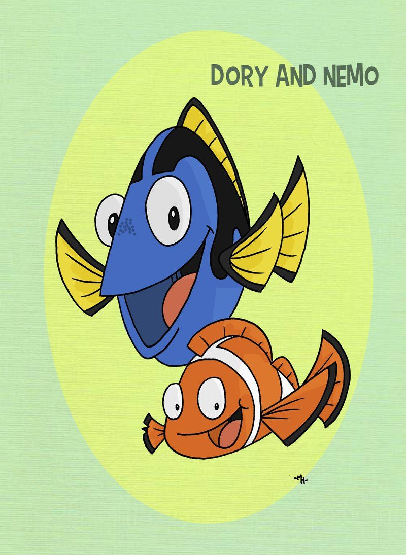 finding dory high quality HD printable wallpapers poster art cartoon nemo dory together