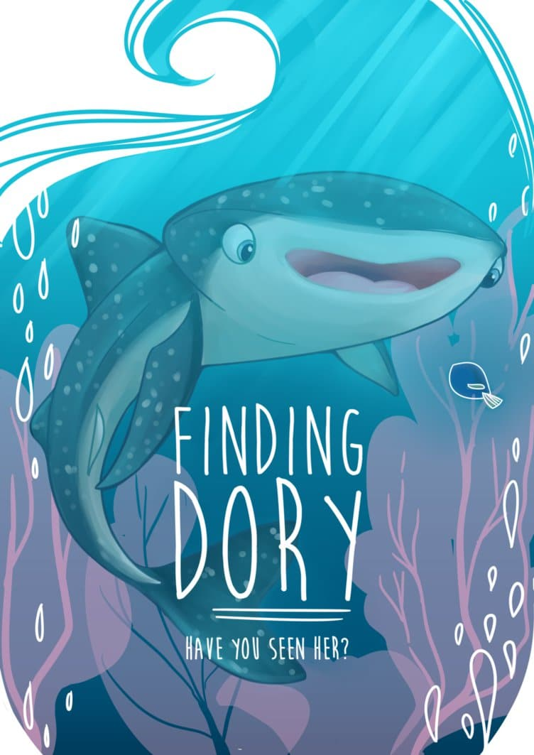 finding dory high quality HD printable wallpapers poster destiny whale shark dory art cartoon
