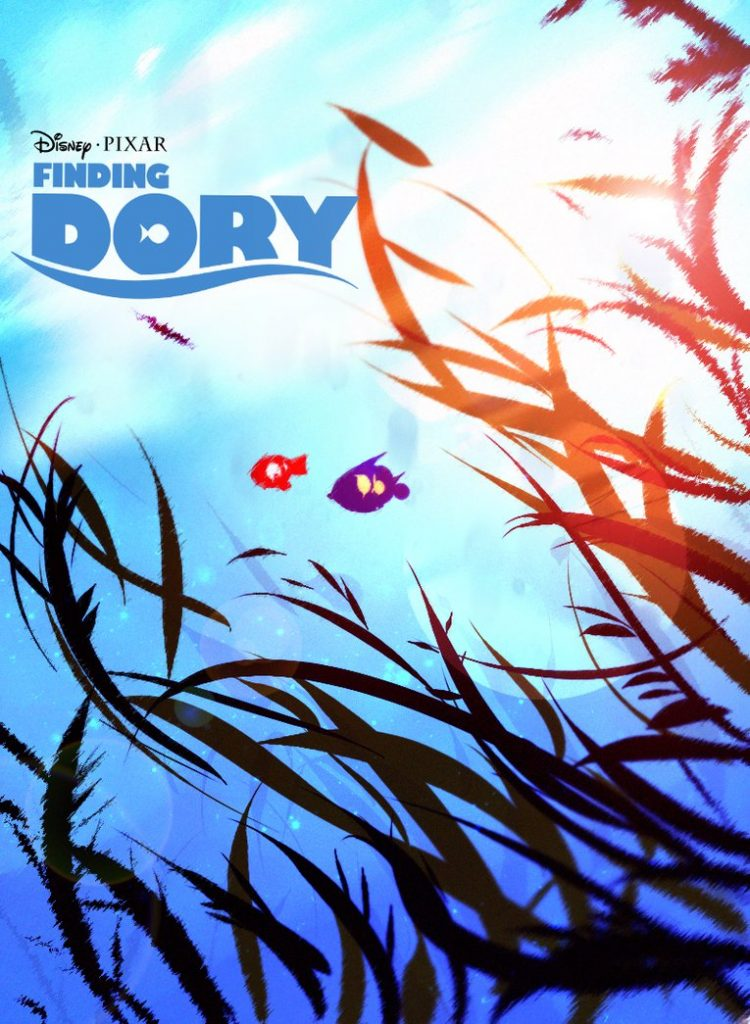 finding dory high quality HD printable wallpapers poster water plant nemo and dory poster art