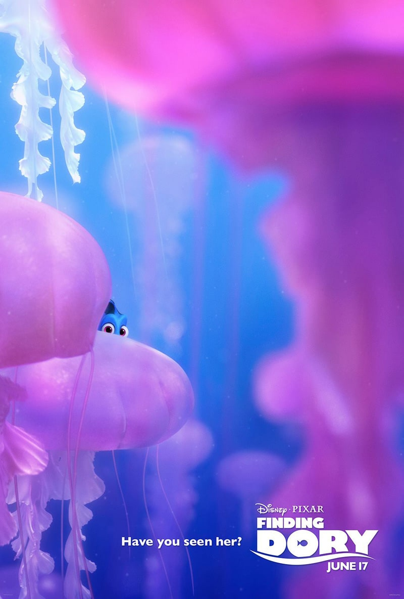 finding dory high quality HD printable wallpapers poster jelly fish have you seen her posters