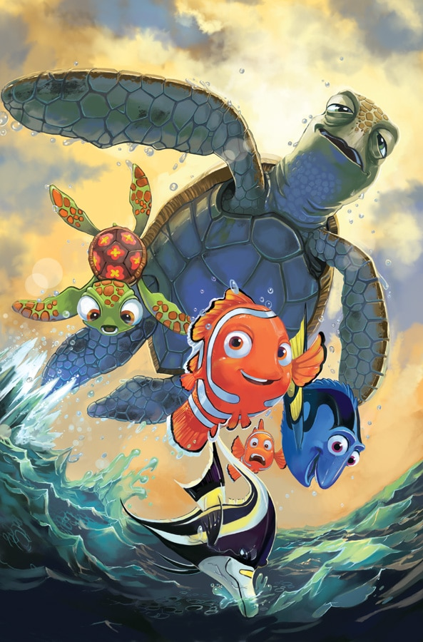 finding nemo poster high quality HD printable wallpapers dudes crush squirt marlin and dory