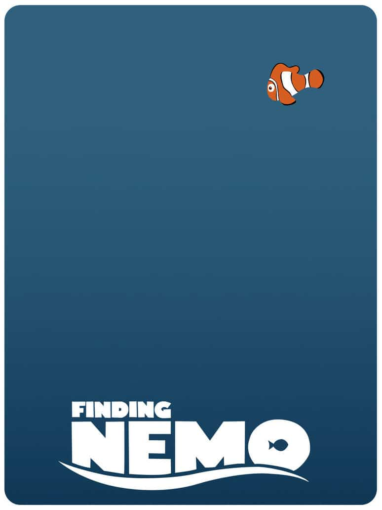 finding nemo poster high quality HD printable wallpapers marlin finding nemo poster