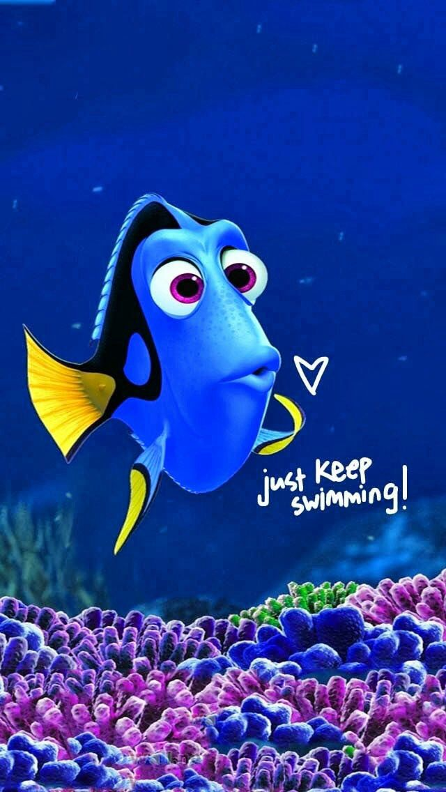 finding nemo poster high quality HD printable wallpapers just keep swimming dory lovely poster