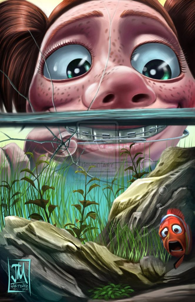 finding nemo poster high quality HD printable wallpapers darla the fish killer