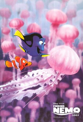 finding nemo poster high quality HD printable wallpapers dory and nemo between jellyfish