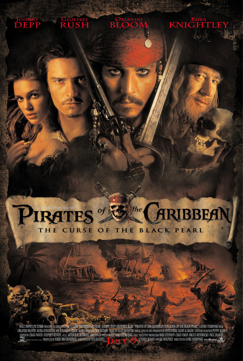 pirates of the caribbean poster high quality HD printable wallpapers official poster dark all characters
