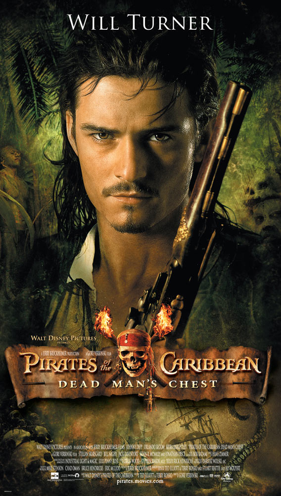 pirates of the caribbean poster dead man's chest high quality HD printable wallpapers orlando bloom will turner