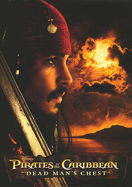 pirates of the caribbean poster dead man's chest high quality HD printable wallpapers cool jack sparrow jonny depp