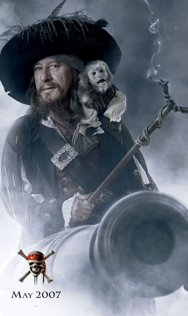 pirates of the caribbean poster at world's end high quality HD printable wallpapers captain barbossa and his monkey jack