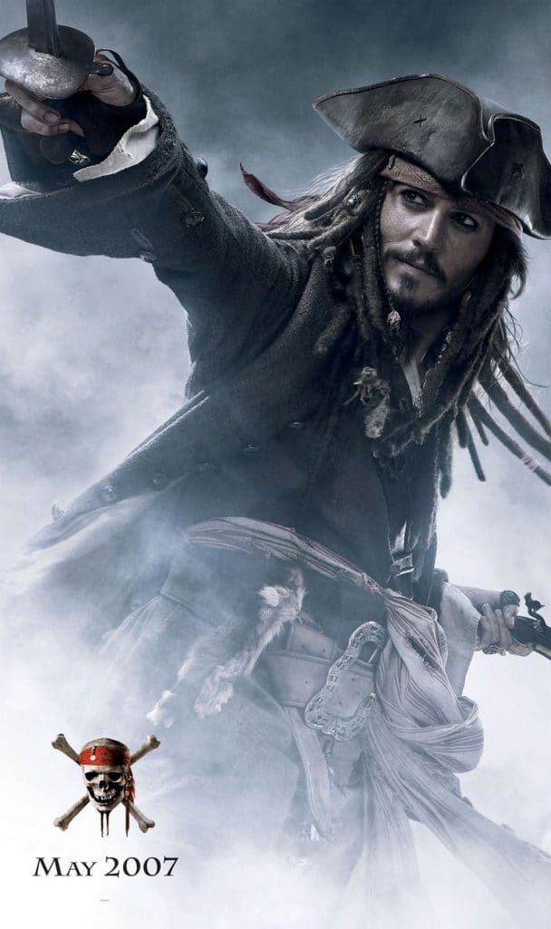 pirates of the caribbean poster at world's end high quality HD printable wallpapers captain jack sparrow in fog