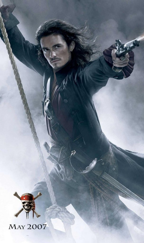 pirates of the caribbean poster at world's end high quality HD printable wallpapers will turner orlando bloom