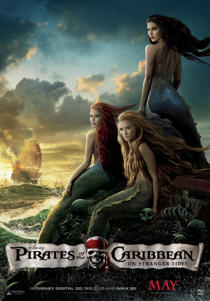 pirates of the caribbean poster on stranger tides high quality HD printable wallpapers mermaids naked scene poster