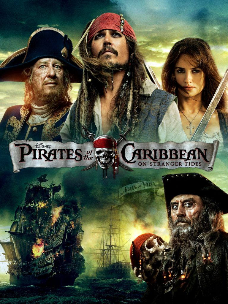 pirates of the caribbean poster on stranger tides high quality HD printable wallpapers official poster