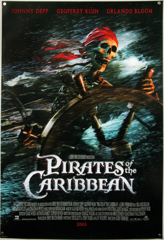 Pirates Of The Caribbean Poster Curse Black Pearl High Quality HD Printable Wallpapers Cool