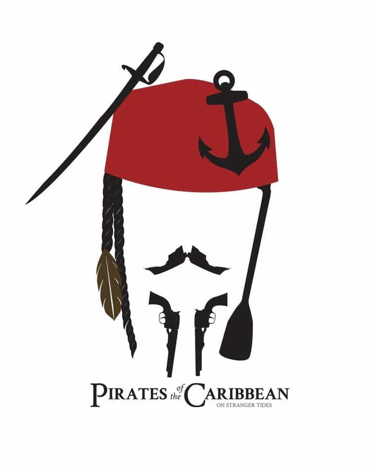pirates of the caribbean poster high quality HD printable wallpapers jack sparrow art