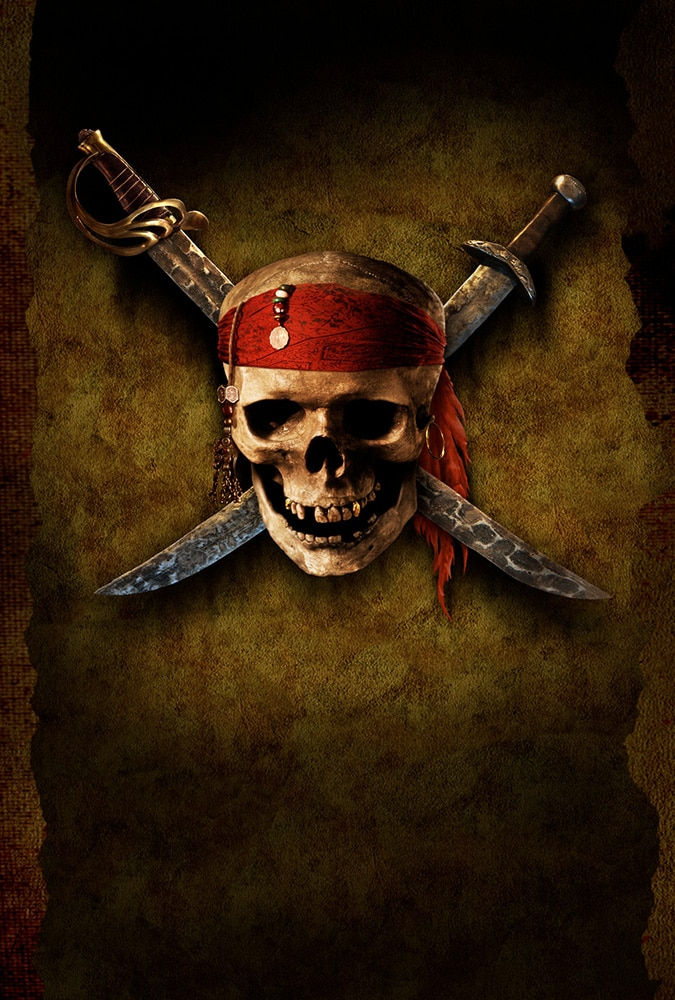 pirates of the caribbean poster high quality HD printable wallpapers the skull and swords poster