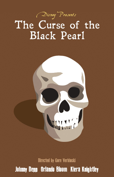 pirates of the caribbean poster the curse of black pearl high quality HD printable wallpapers skull art drawing animated