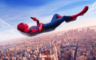 spiderman homecoming poster high quality HD printable wallpapers spiderman sleeping on web