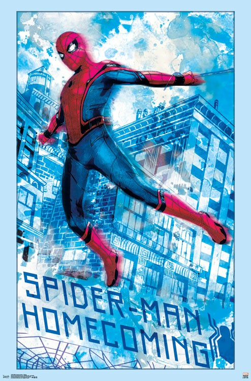 spiderman homecoming poster high quality HD printable wallpapers signature scene spiderman ship scene poster