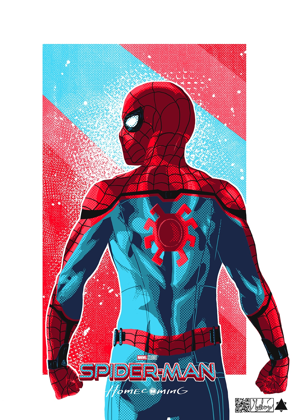 spiderman homecoming poster high quality HD printable wallpapers art spiderman animated cartoon