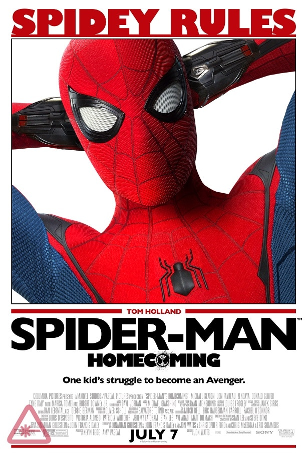 spiderman homecoming poster high quality HD printable wallpapers spiderman rules cool wall