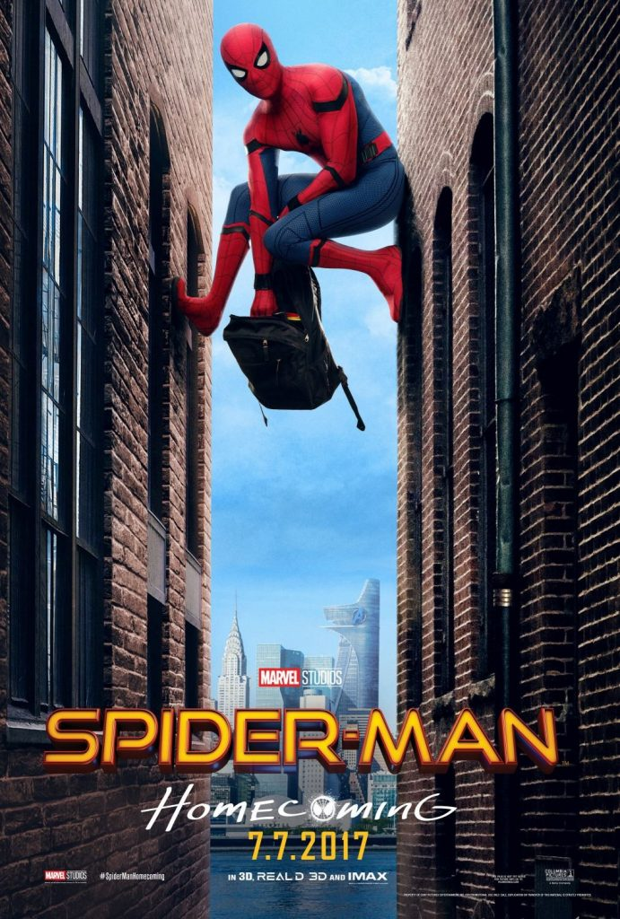 spiderman homecoming poster high quality HD printable wallpapers spiderman garbage scene