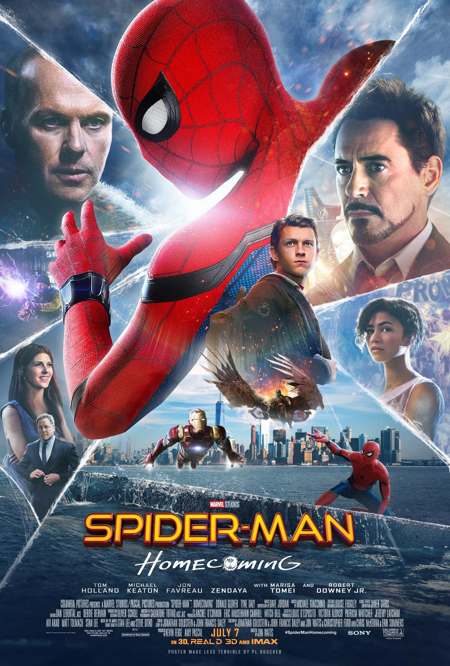 spiderman homecoming poster high quality HD printable wallpapers all characters