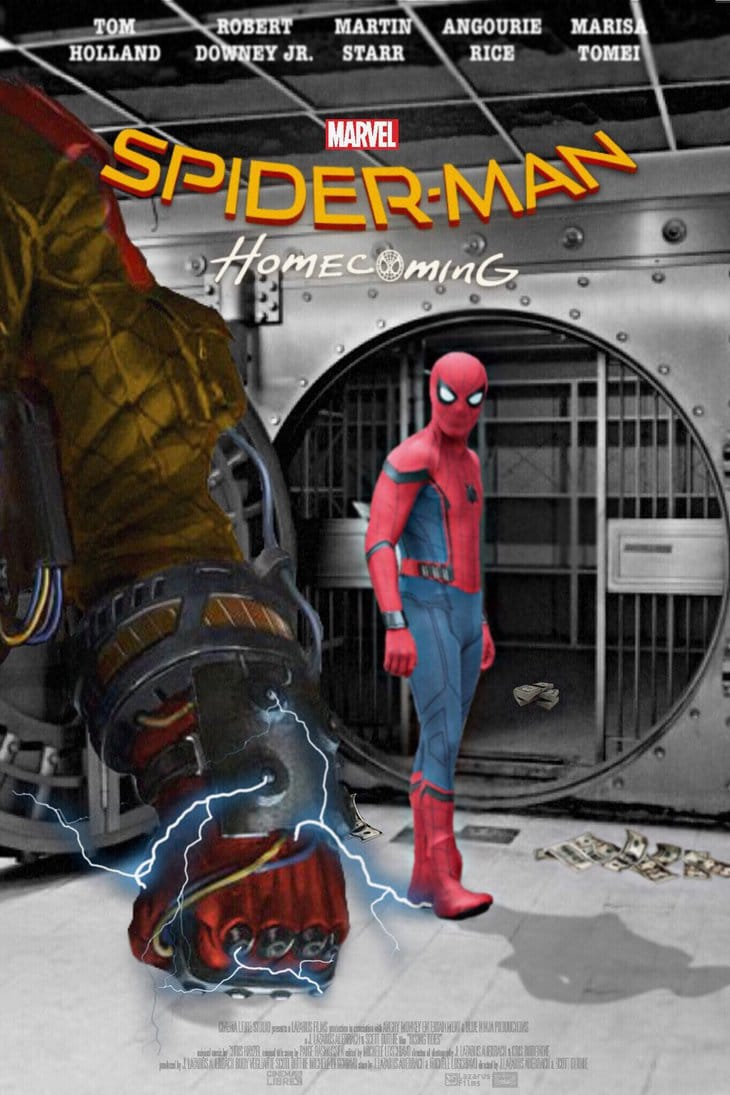 spiderman homecoming poster high quality HD printable wallpapers spiderman vs shocker