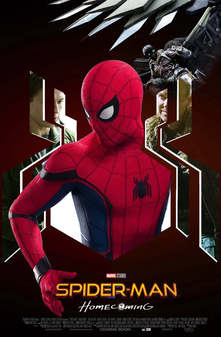 spiderman homecoming poster high quality HD printable wallpapers cool spiderman