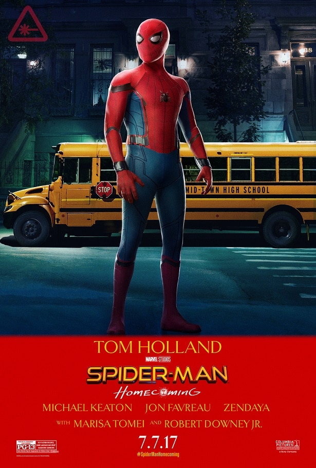 spiderman homecoming poster high quality HD printable wallpapers spiderman in school peter parker and the school bus