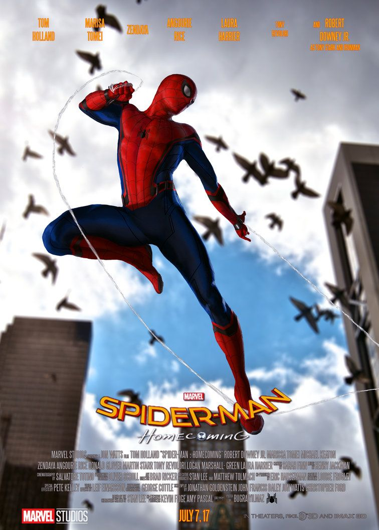 spiderman homecoming poster high quality HD printable wallpapers in ctaion pegion new york city
