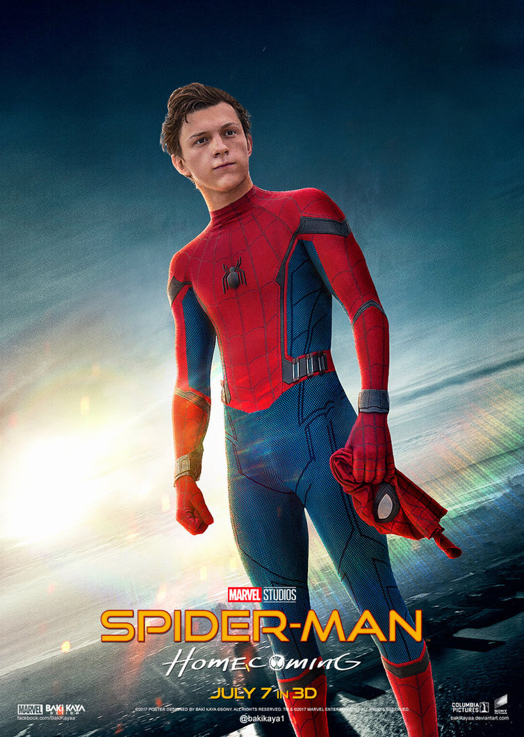 spiderman homecoming poster high quality HD printable wallpapers tom hollan as spiderman peter parker