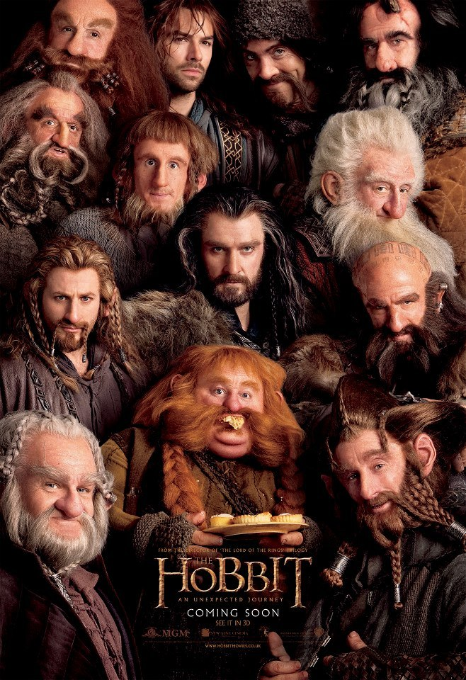 the hobbit an unexpected journey 2012 high quality HD printable wallpapers the comoany all dwarf dwarfs dwarves