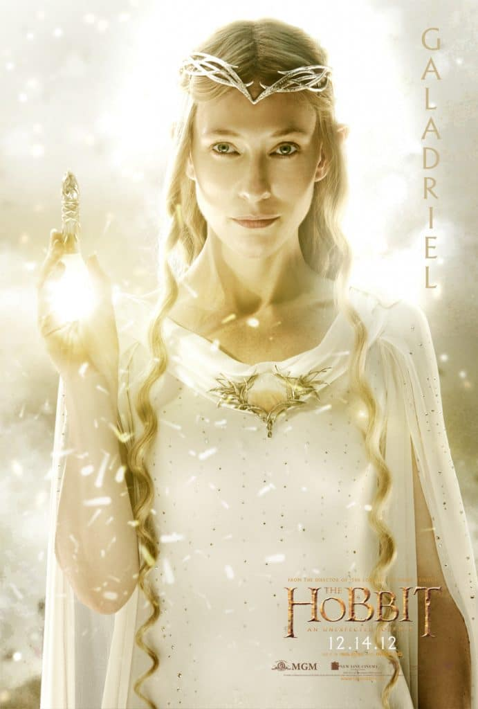 the hobbit an unexpected journey 2012 high quality HD printable wallpapers poster galadriel female character