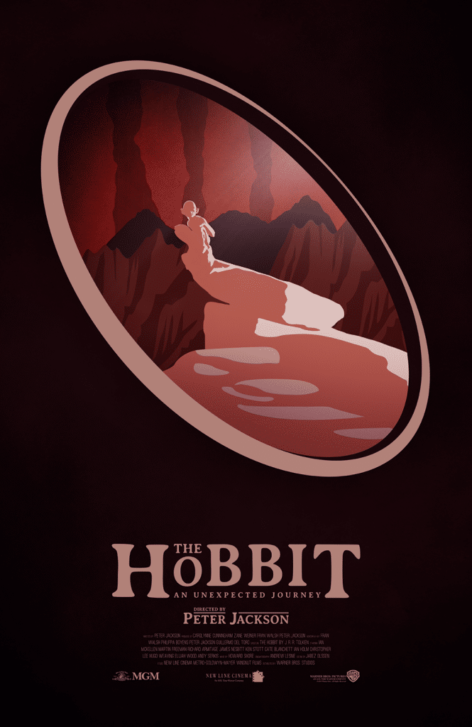 the hobbit the triology high quality HD printable wallpapers poster red poster lonely mountain