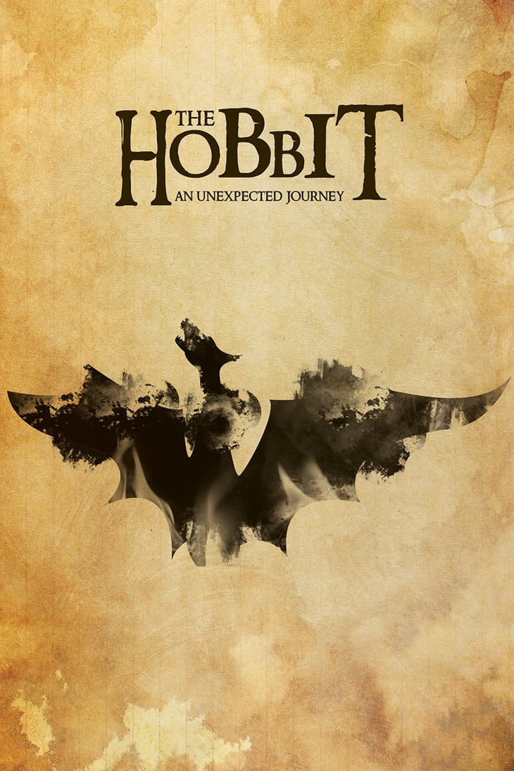 the hobbit the triology high quality HD printable wallpapers poster classic poster dragon smaug