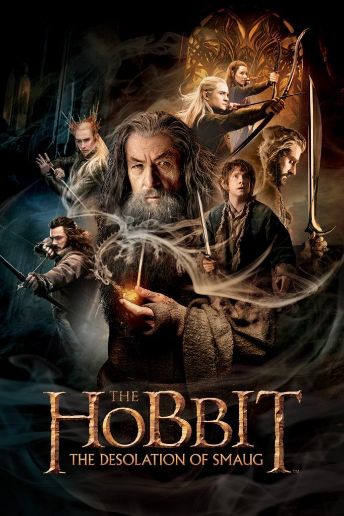 the hobbit the desolation of smaug 2013 high quality HD printable wallpapers poster all characters official poster