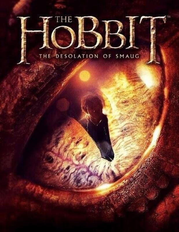the hobbit the desolation of smaug 2013 high quality HD printable wallpapers poster smaug eyes bilbo baggins dragon