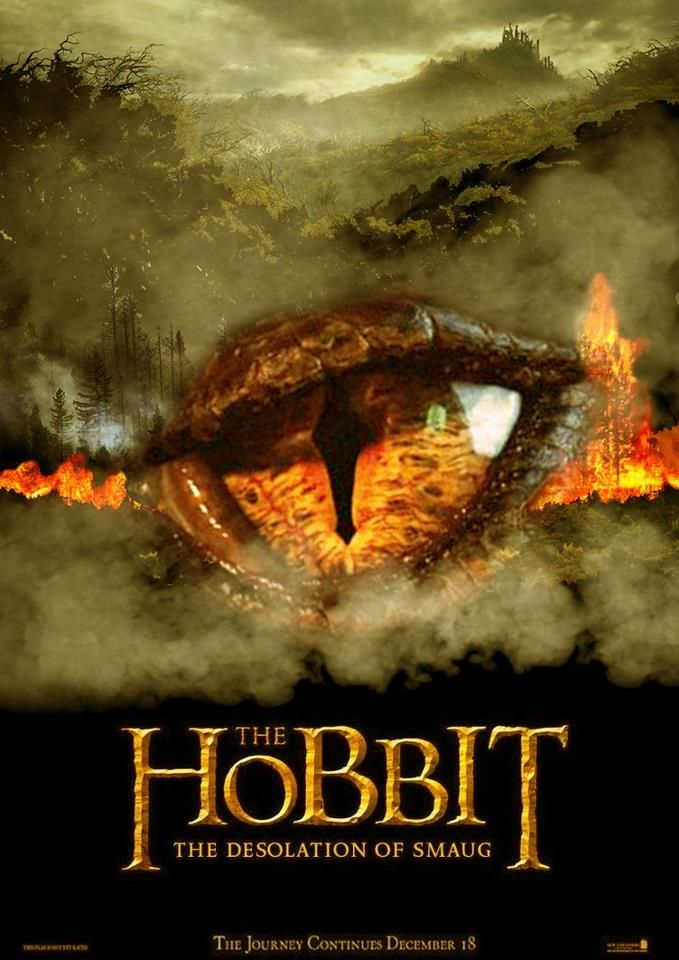 the hobbit the triology high quality HD printable wallpapers poster smaug eye