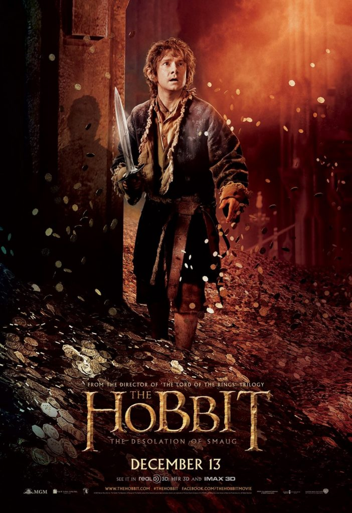 the hobbit the triology high quality HD printable wallpapers poster bilbo baggins in lonely mountain